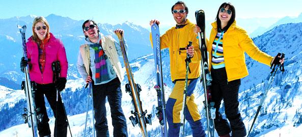 Hotele blisko wypożyczalni nart we włoskich alpach